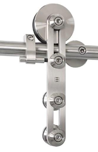 Schiebetürbeschlag Protec - Set für Holztüren mit Stärke 19-45mm