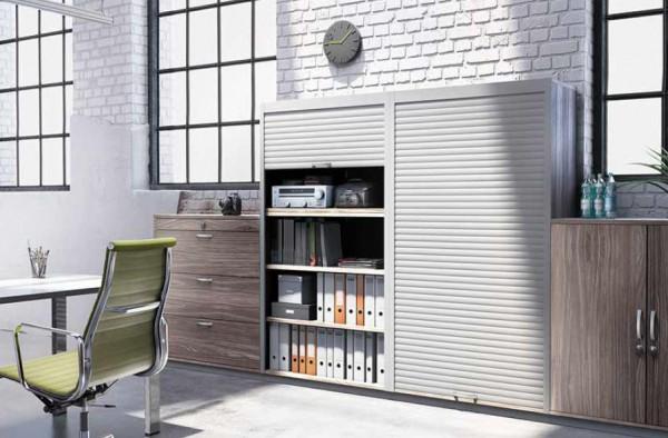 Möbel-Rollladenbox Smart Case Aluminium - Stabbreite 25mm