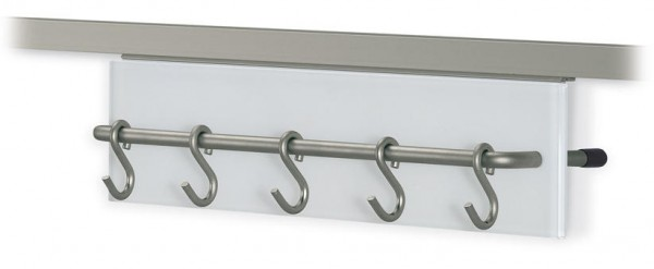 S-Hakenleiste für Relingrohre eckig 16x16mm