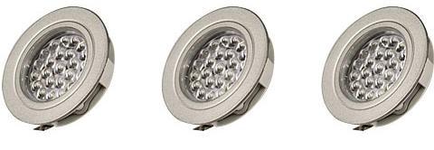 LED Einbauleuchte 3er Set EBL-55-IP44, 24 Volt
