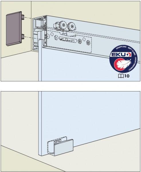 EKU Porta 40GE bis Türgewicht 40kg, Wandmontage