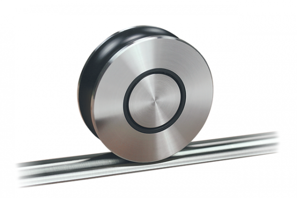 Schiebetürbeschlag Terra - Set für Glastüren mit Stärke 8-12mm