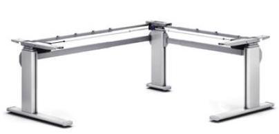 Schreibtischgestell Pro251M90° elektrisch höhenverstellbar