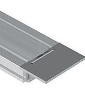 Endkappenset für LED Nutprofil 20 x 8