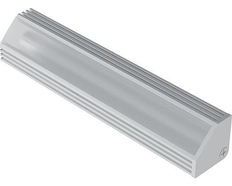 Abdeckprofil für Leuchtenprofil 22 x 22, Länge 3500mm