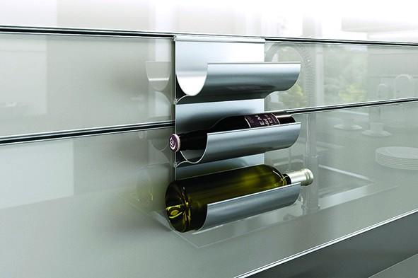 Wall System - Flaschenablage Länge 200mm
