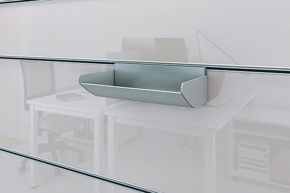 Wall System - Ablageschale Länge 200mm