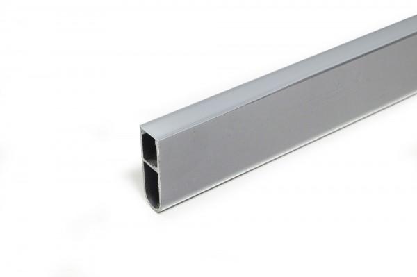 Abdeckprofil LED für Leuchtprofil Free/ Free schwarz (Länge 3,0m -Zuschnitt 2,5m+0,5m)