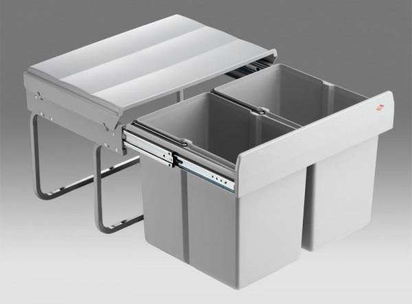 Wesco - Abfallsammler Shorty - 2x15 Liter