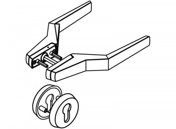 Hewi Türdrücker Modell 126P