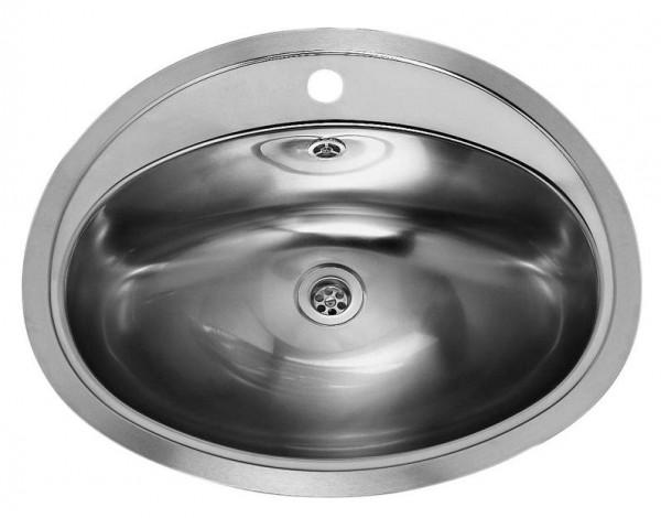 Waschbecken PACIFIC Edelstahl, Durchmesser 570/480mm