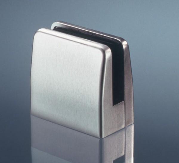 Glasklemmhalter Edelstahl V2A