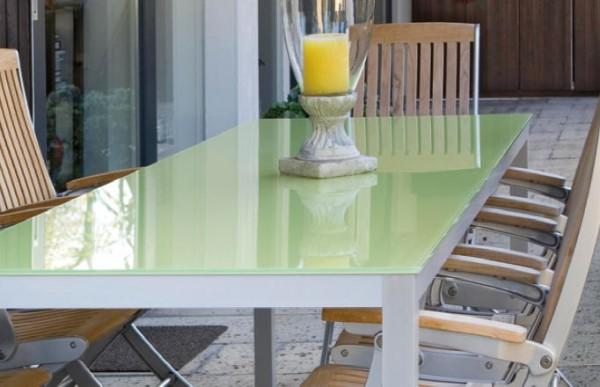Tischgestell Quadro 40 Aluminium EV1, Tischhöhe 730mm