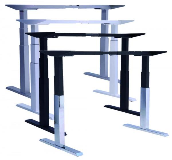 Schreibtischgestell Pro670SLS elektrisch höhenverstellbar