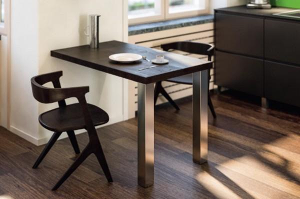 Tischbeine eckig 80x80mm - Einzelfüße