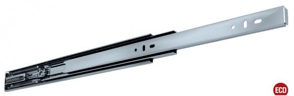 Fulterer FR 5001 ECD Teleskopvollauszug bis 40kg, Stahl glanz verzinkt