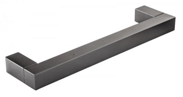 Möbelgriff 12x12mm - Schwarz eloxiert
