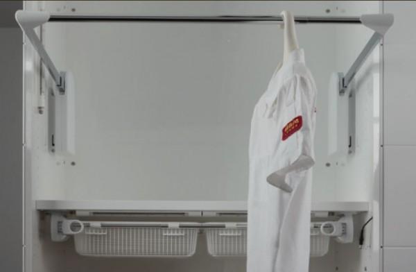 Kleiderlift Servetto Elettrico Serie 3, Belastung bis 15kg