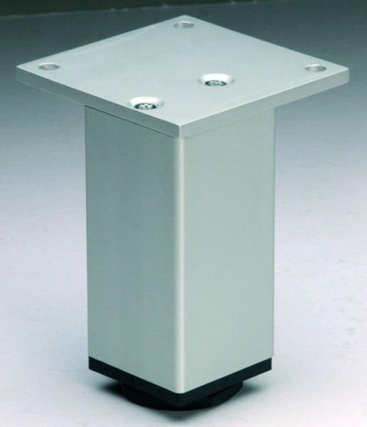 Sockelfuß Aluminium EV1 eloxiert 45x45mm