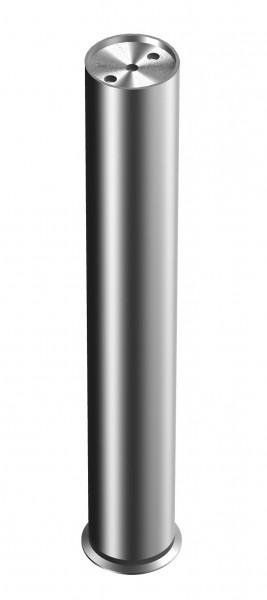 Edelstahl Tischbeine PR210 rund 50/80mm