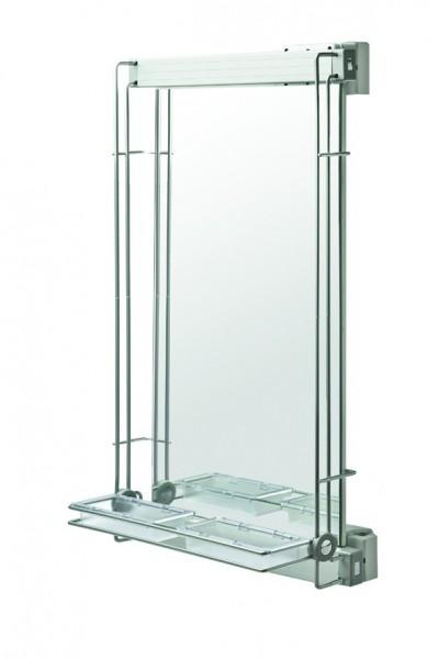 Spiegel, ausziehbar und drehbar