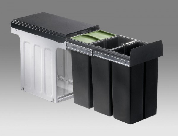 Wesco - Abfallsammler Bio Trio Maxi Profi 30 - 3x10 Liter