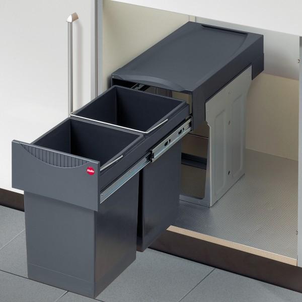 Hailo - Abfallsammler Tandem - 2x15 Liter
