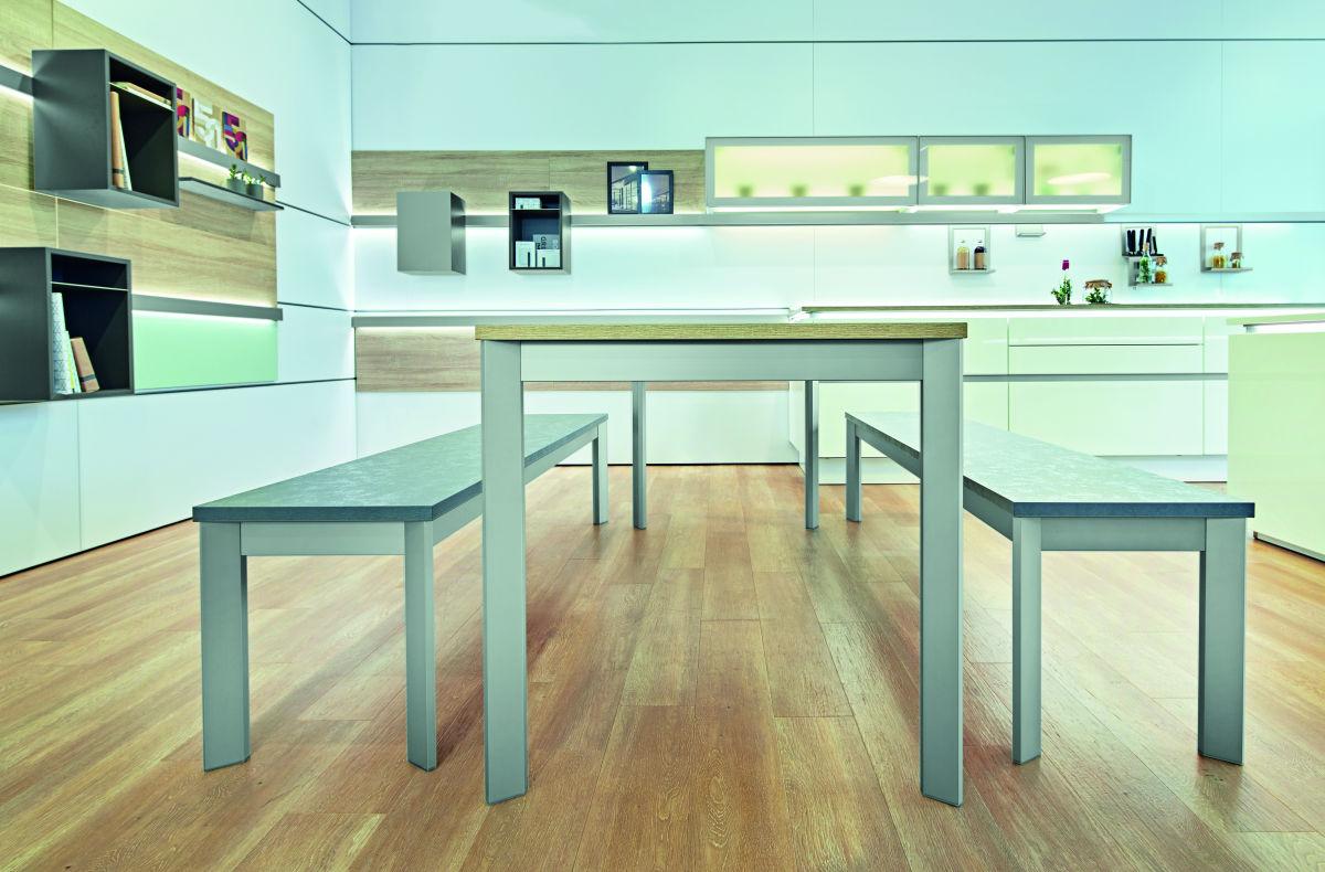 bankgestell frame aluminium edelstahl optik tischgestell frame tischgestelle tisch bett. Black Bedroom Furniture Sets. Home Design Ideas