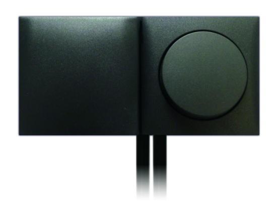 Einbau Schalter - Steckdose 2-fach Kombination mit Klappdeckel