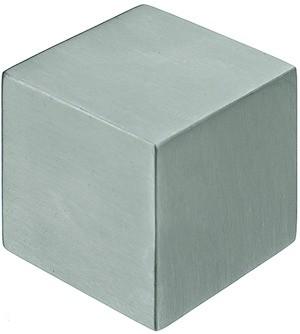 Möbelknopf Edelstahl Würfelform, 25mm