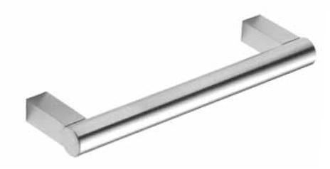 Sockelgriff Edelstahl Durchmesser 14mm, Maßfertigung