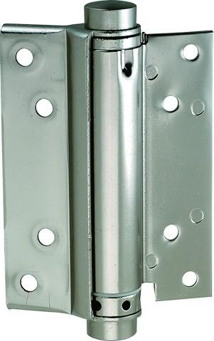 Pendeltürband einseitig wirkend (Anschlagtür), Nickel matt