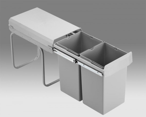 Wesco - Abfallsammler Doubleboy - 2x15 Liter