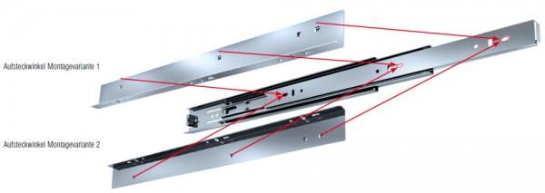 Fulterer FR 5000 ASW Aufsteckwinkel zu FR 5000, Stahl glanz verzinkt