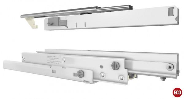 Fulterer FR 771 Differential Kulissenvollauszug bis 120kg, Stahl Weiss