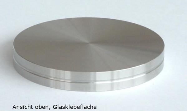 Glasklebeadapter für Barkonsolen rund
