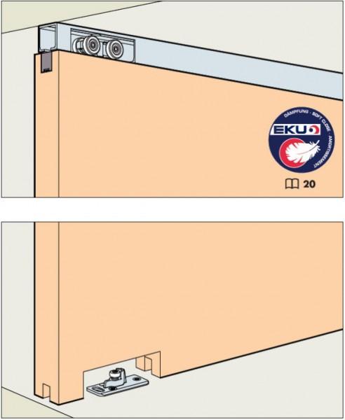 EKU Porta 60/100HM bis Türgewicht 60/100kg, Deckenmontage