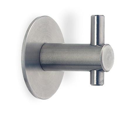 Garderobenhaken Edelstahl Durchmesser 10 und 14mm