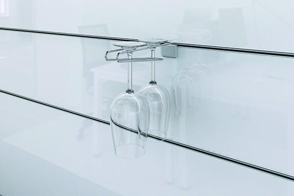 Wall System - Abhängearm für Gläser, Ausl. 236mm