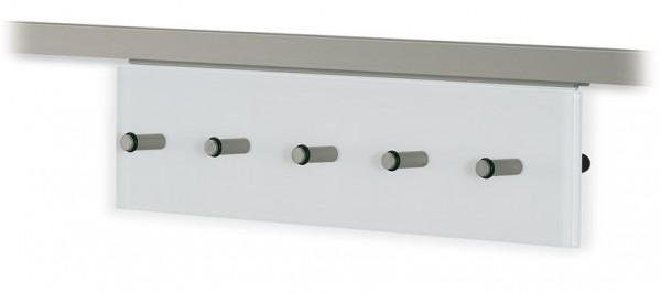 Hakenleiste für Relingrohre eckig 16x16mm
