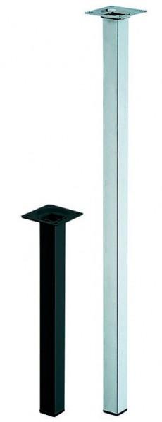 Tischbeine quadratisch 25x25mm - Einzelfüße