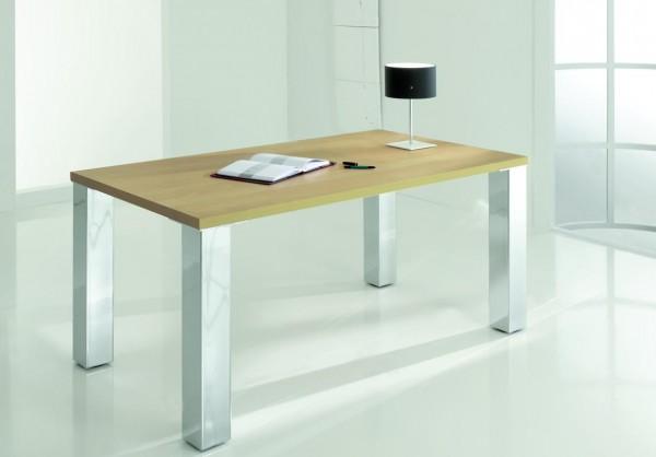 Tischbeine eckig 100x100mm - Einzelfüße