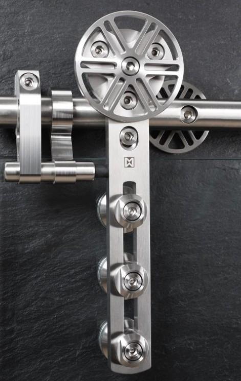 schiebet rbeschlag chronos set f r glast ren mit st rke 8 12mm glas schiebet rbeschl ge. Black Bedroom Furniture Sets. Home Design Ideas