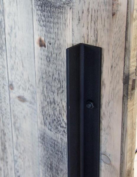 Türgriff für Schiebetürbeschlag Stahl, Länge 600mm