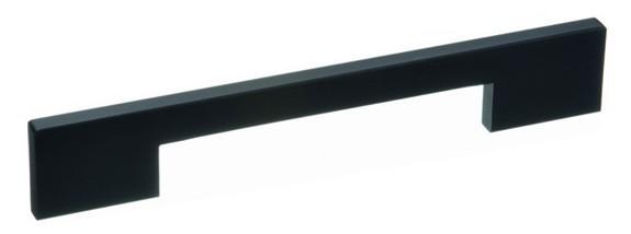 Möbelgriff 42102 - Schwarz eloxiert