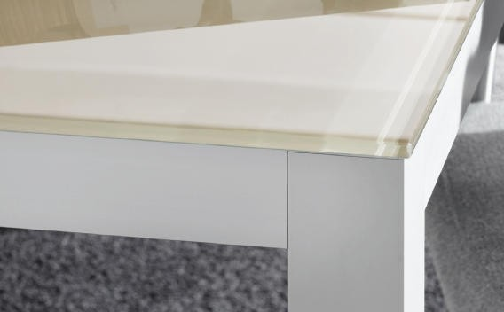 Glasplattenset für Tischgestell Quadro 40