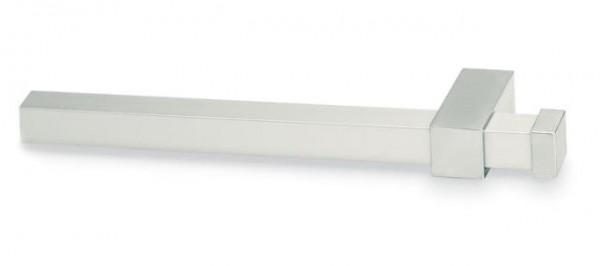 Relingrohre eckig 16x16mm, Chrom matt