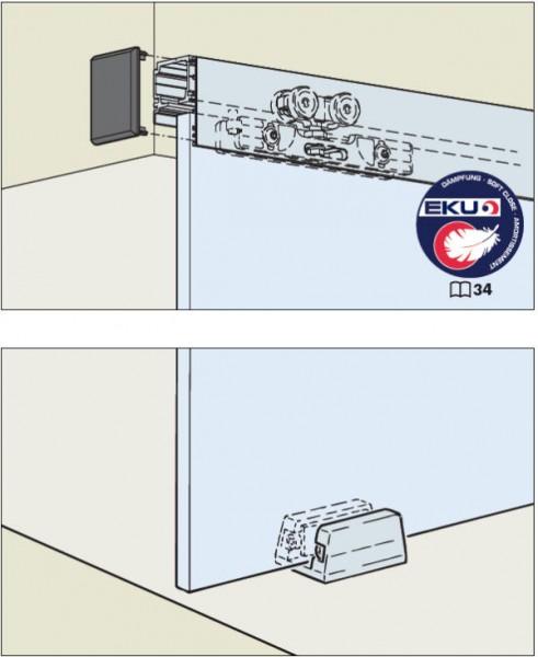 EKU Porta 100GMD bis Türgewicht 100kg, Wand- oder Deckenmontage