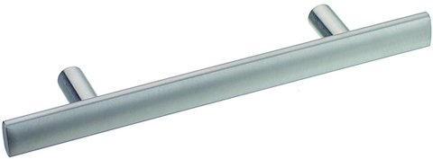 Relinggriff Edelstahl ovale Griffstange 14x6mm, Höhe 27mm