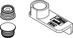 Hawa Concepta Folding - Zentrierteile magnetisch